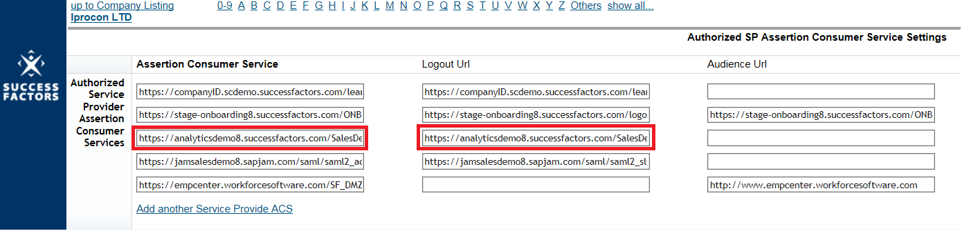 SuccessFactors Reporting – Resolve Error in ORD and WFA
