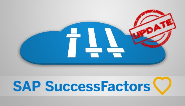 SuccessFactor Release Update