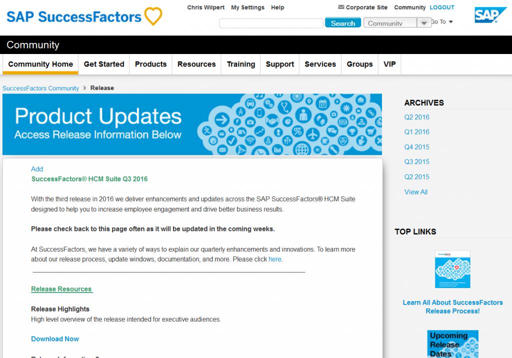 SuccessFactors Release Updates – How to keep track | iProCon