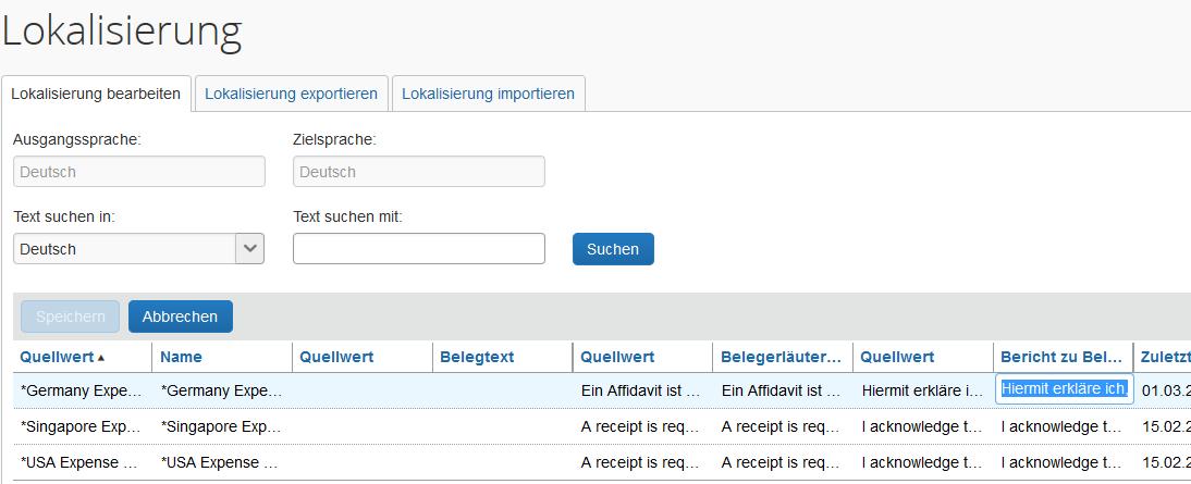 Concur: Wie Sie den Affidavit oder Eigenbeleg konfigurieren | iProCon