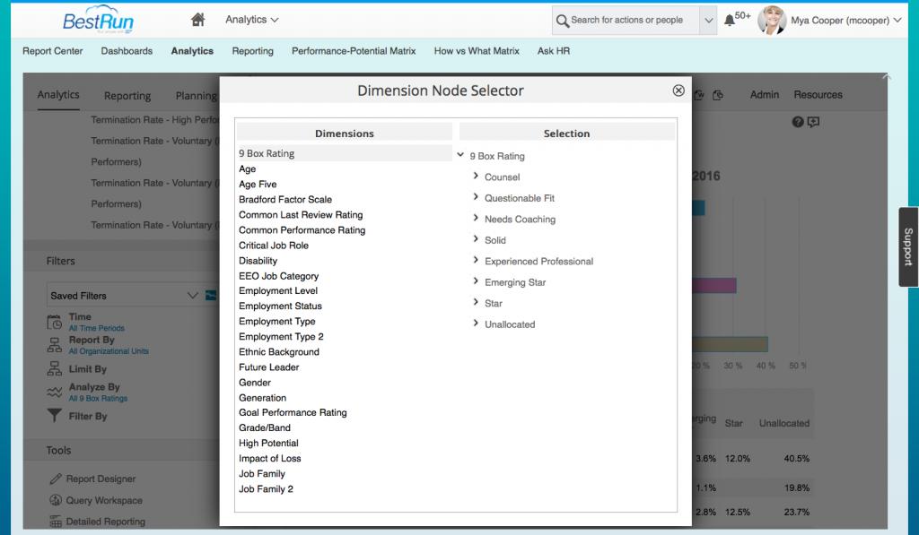 Workforce Analytics - Dimension Node