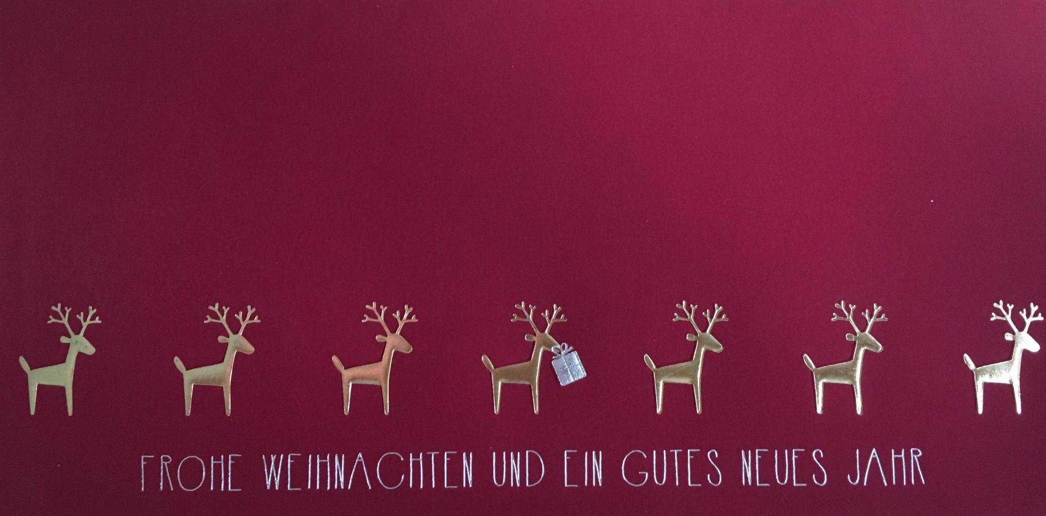 Weihnachtsgrüße iProCon GmbH 2018