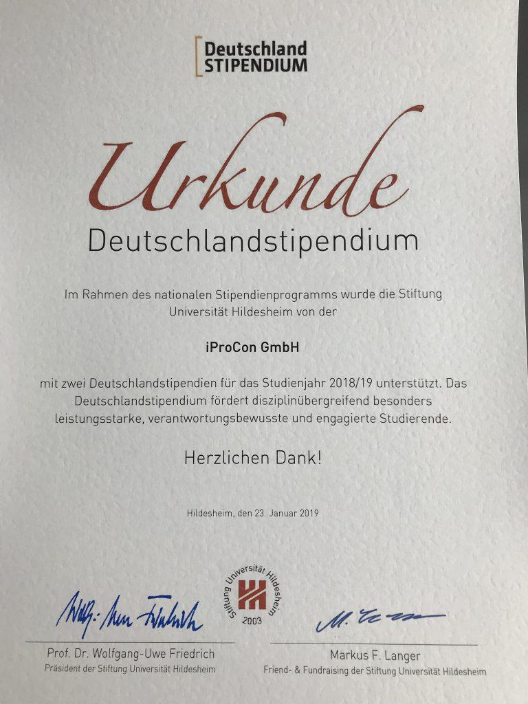 Deutschland-Stipendien